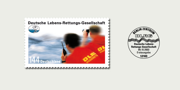 Briefmarkendesign DLRG