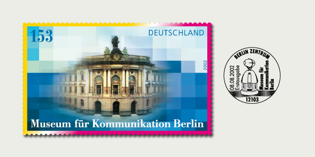 Briefmarkendesign Museum für Kommunikation Berlin