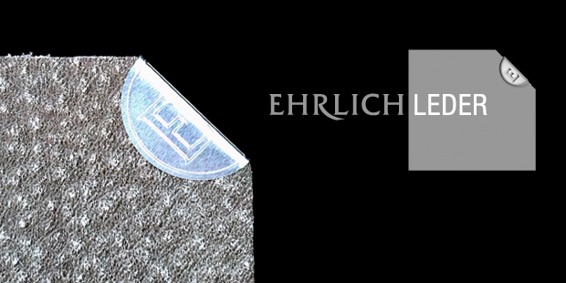 Corporate Design Logo Ehrlich Leder